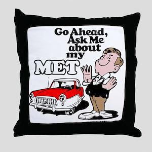 AskMe-Male Throw Pillow
