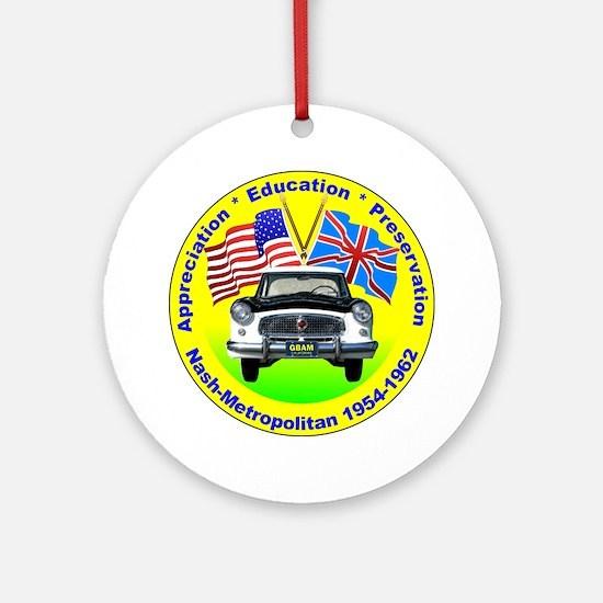 GBAM Appreciation logo Round Ornament