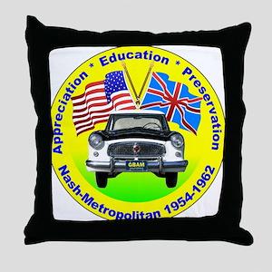 GBAM Appreciation logo Throw Pillow