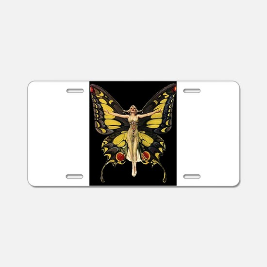 Art Deco Butterfly Flapper Jazz Age 1920s Aluminum