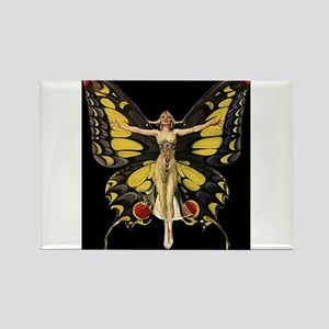 Art Deco Butterfly Flapper Jazz Age 1920s Magnets
