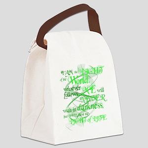 LightOfTheWorld2 Canvas Lunch Bag