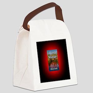 A Little Murder Button Mag Canvas Lunch Bag