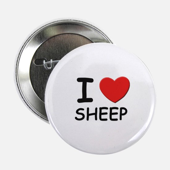 I love sheep Button