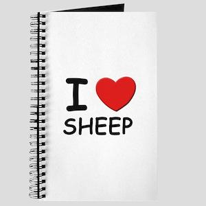 I love sheep Journal