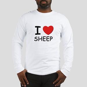 I love sheep Long Sleeve T-Shirt