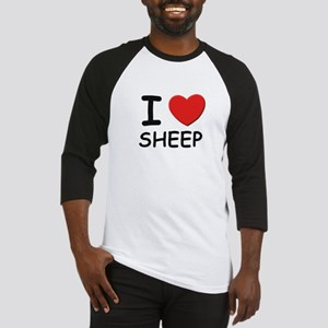 I love sheep Baseball Jersey