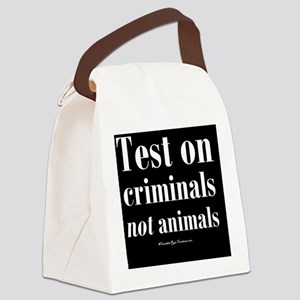 testcriminals_blsq Canvas Lunch Bag