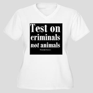 testcriminals_bls Women's Plus Size V-Neck T-Shirt