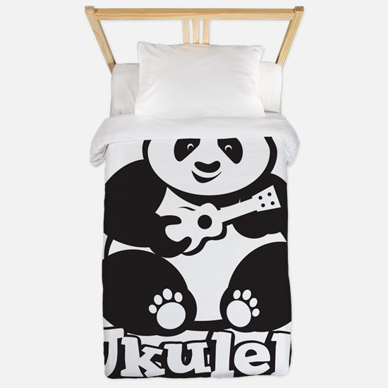 Ukulele Panda Twin Duvet