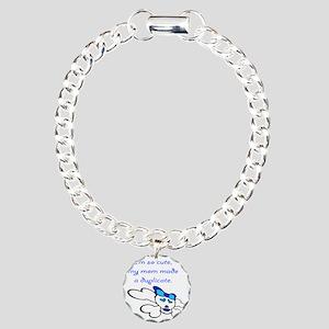 duplicate Charm Bracelet, One Charm