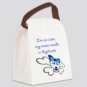duplicate Canvas Lunch Bag