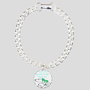 duplicate_green Charm Bracelet, One Charm