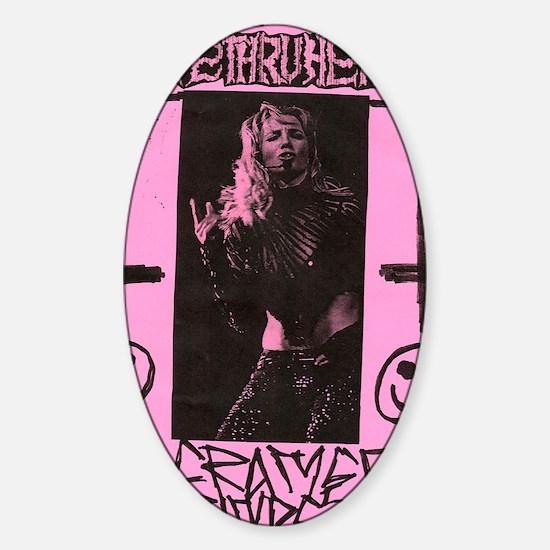 bs_pink Sticker (Oval)