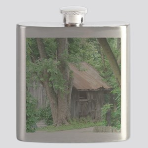 Rustic Shed Flask