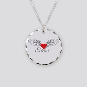 Angel Wings Esther Necklace