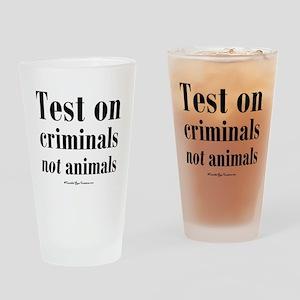testcriminals_sq Drinking Glass