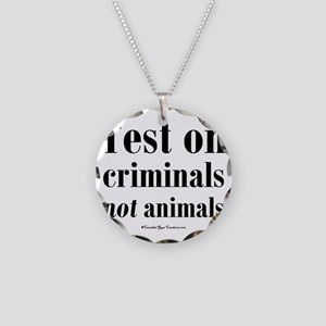 testcriminals_sq Necklace Circle Charm