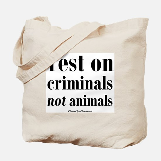 testcriminals_sq Tote Bag