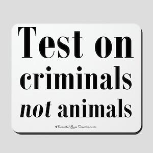 testcriminals_sq Mousepad