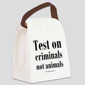 testcriminals_sq Canvas Lunch Bag
