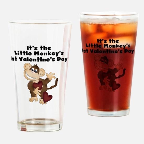 MONKEYVALENTINEFOUR Drinking Glass