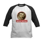 Labrador Retriever Kids Baseball Jersey