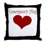 Emergency Hug Throw Pillow