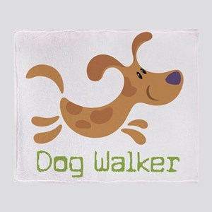 DogWalker Throw Blanket