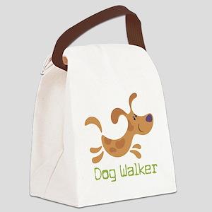 DogWalker Canvas Lunch Bag