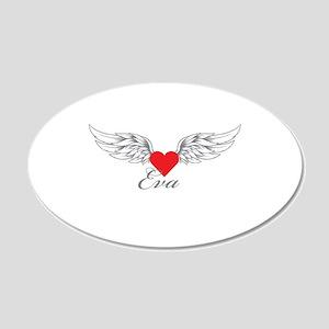 Angel Wings Eva Wall Decal