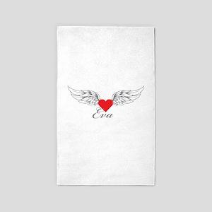 Angel Wings Eva 3'x5' Area Rug