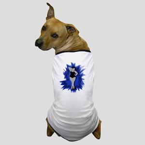sexiness burst blue Dog T-Shirt