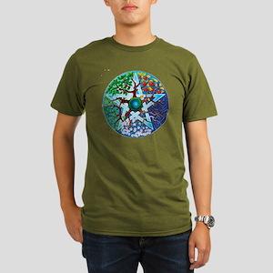 2-20061229-pentacle-s Organic Men's T-Shirt (dark)