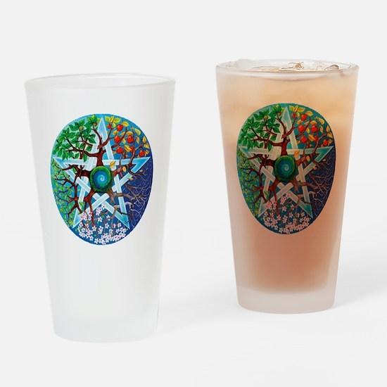 2-20061229-pentacle-seasons Drinking Glass
