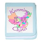 Kunming China baby blanket