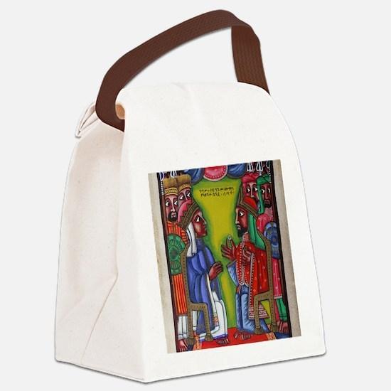 Ethiopian orthodox Queen of Saba  Canvas Lunch Bag