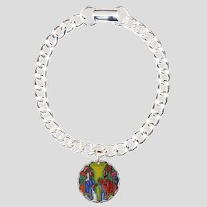 Ethiopian orthodox Queen Charm Bracelet, One Charm