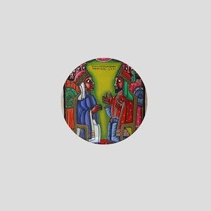Ethiopian orthodox Queen of Saba Icon Mini Button