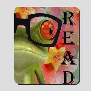 notebook frog Mousepad