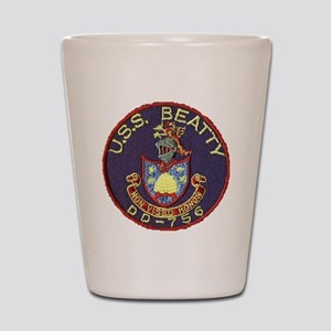 beatty patch Shot Glass