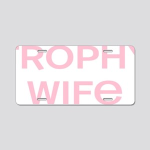 wifepink Aluminum License Plate