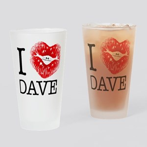 i_heart_dave Drinking Glass