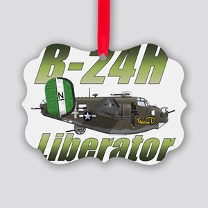 B24 Tee Picture Ornament