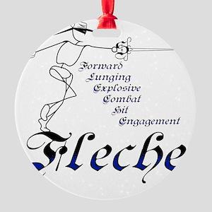 Fleche Round Ornament