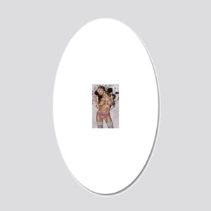 cover 20x12 Oval Wall Decal