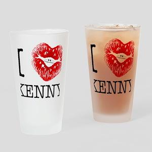i_heart_kenny Drinking Glass