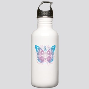 Transgender-Butterfly- Stainless Water Bottle 1.0L