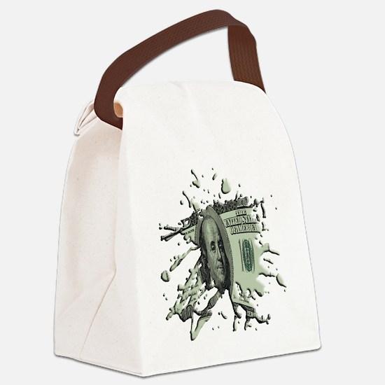 100Blot Canvas Lunch Bag