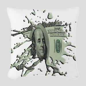 100Blot Woven Throw Pillow